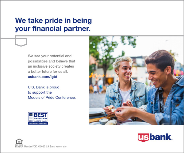 U.S. Bank is proud to support the Models of Pride Conference